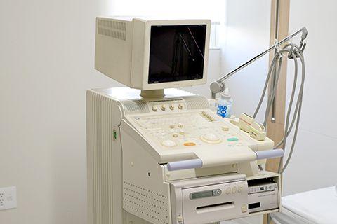 エコー検査機